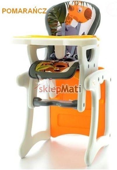 eb krzesełko pomarańczowe