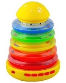 Baby-Mix Muzyczna wieża do nauki kolorów