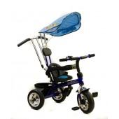 Eurobaby rowerek Trójkołowy z daszkiem T019