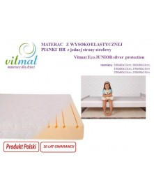 Vitmat Materac Piankowy Wysokoelastyczny Eco Junior Silver Protection 200x90 cm do wyceny
