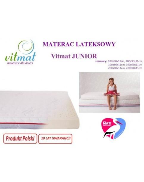 Vitmat Materac Lateksowy JUNIOR 190x90 cm do wyceny