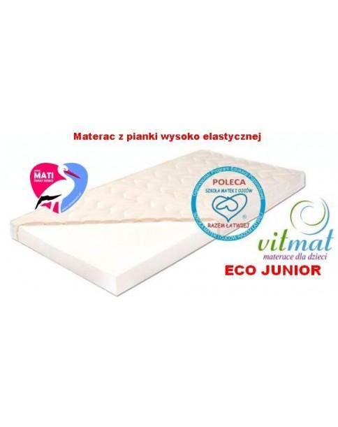 Vitmat Materac Piankowy Wysokoelastyczny Eco Junior 160x80 cm
