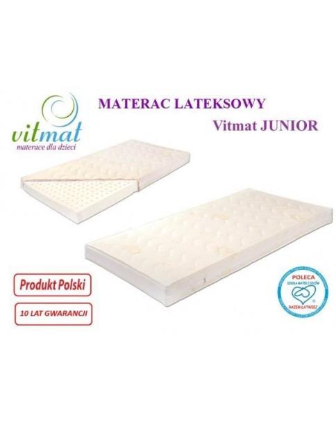 Vitmat Materac Lateksowy Junior 160x80x11cm do wyceny