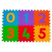 Baby Ono piankowe Puzzle podłogowe Cyfry - 6 elementów 275