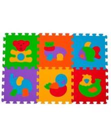 Baby Ono piankowe Puzzle podłogowe Zwierzęta  - 6 elementów 277
