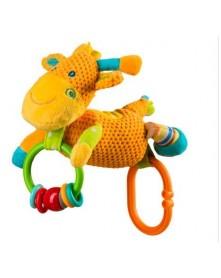 Baby Ono zabawka welurowa dzwoniąca Żyrafa 1325
