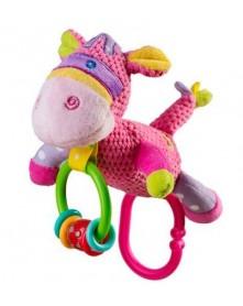 Baby Ono zabawka welurowa dzwoniący Osiołek 1327