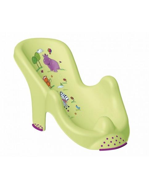 Keeeper fotelik antypoślizgowy Hippo limonka