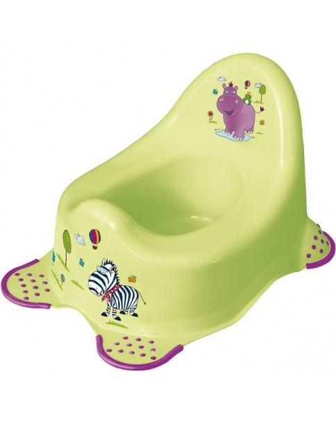 Keeeper nocnik antypoślizgowy Hippo limonka