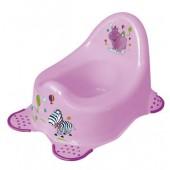 Keeeper nocnik antypoślizgowy Hippo lila
