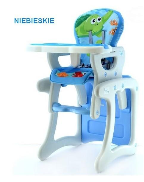 Eurobaby Krzesełko wielofunkcyjne Komfort NIEBIESKIE