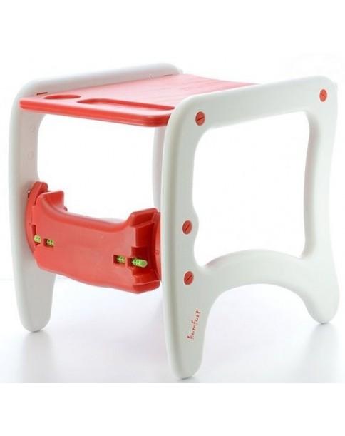 Eurobaby Krzesełko wielofunkcyjne Komfort CZERWONE