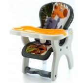 Eurobaby Krzesełko wielofunkcyjne Komfort POMARAŃCZ