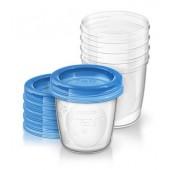 Avent Philips Pojemniki do przechowywania żywności 5 sztuk 180 ml SCF 619/05