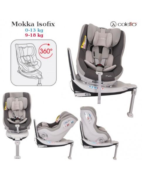 Coletto Fotelik Samochodowy Mokka 0-18 kg