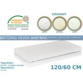 Hevea Materac piankowo-lateksowy BabyMax 120/60cm