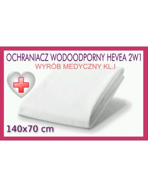 Hevea Ochraniacz wodoodporny 2w1 Rozmiar 140/70 cm