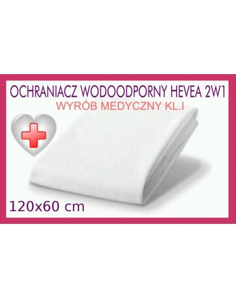 Hevea Ochraniacz wodoodporny 2w1 Rozmiar 120/60 cm