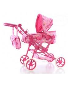 Eurobaby Wózek dla lalek 2w1 głęboko-spacerowy 9368