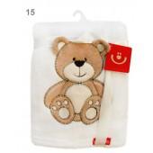Bobobaby Kocyk exclusive baby z aplikacją 76x102cm KCSN-08