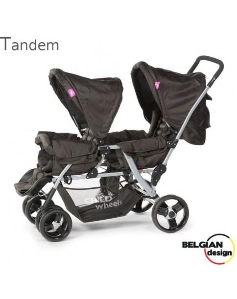 ChildHome Wózek spacerowy bliźniaczy Tandem
