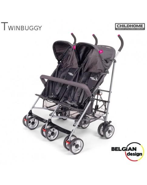 ChildHome Wózek spacerowy bliźniaczy Twinbuggy