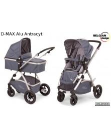 Childhome Wózek wielofunkcyjny D-Max Alu Antracyt 2w1