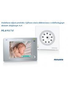 Miniland Cyfrowa niania elektroniczna z wielofunkcyjnym ekranem 3,5 plus ML89175