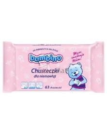 Bambino Chusteczki dla niemowląt 63 szt