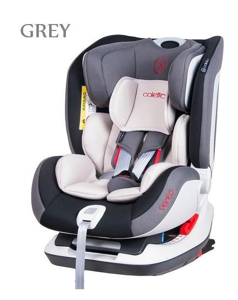 Coletto Fotelik Samochodowy Vento Isofix 0-25 kg grey