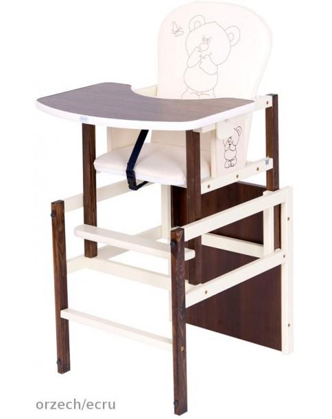 Drewex Krzesełko Antoś Miś I Przyjeciele orzech /ecru