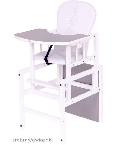 Drewex Krzesełko Antoś Srebrny/ Gwiazdki