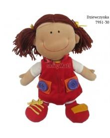 Eurobaby Lalka Dziewczynka 7951-30