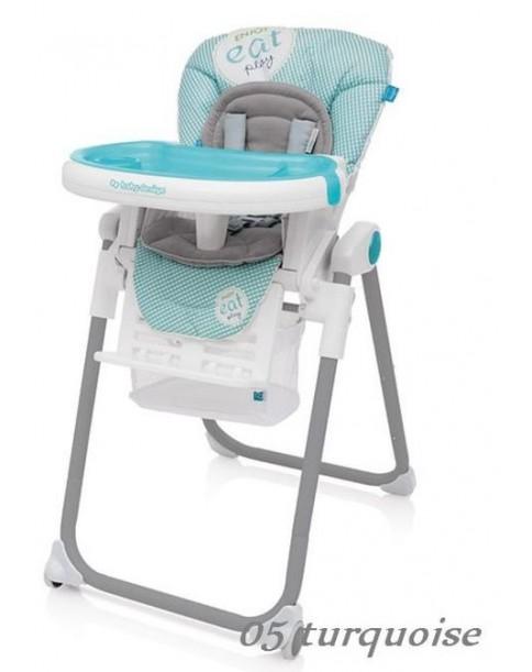 Baby Design krzesełko do karmienia LOLLY 05 turquoise