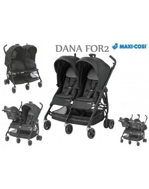 Maxi-Cosi wózek spacerowy Dana FOR2 Nomad Black