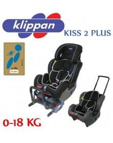 Klippan fotel samochodowy Kiss 2 Plus 0-18kg
