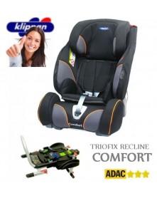Klippan fotel samochodowy Triofix Recline Comfort z bazą 9-36kg