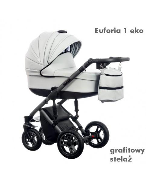 Paradise Baby Wózek Wielofunkcyjny Euforia New 3w1  gondola euforia 1 eko