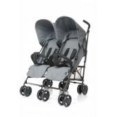 4 Baby wózek bliźniaczy TWINS Gray