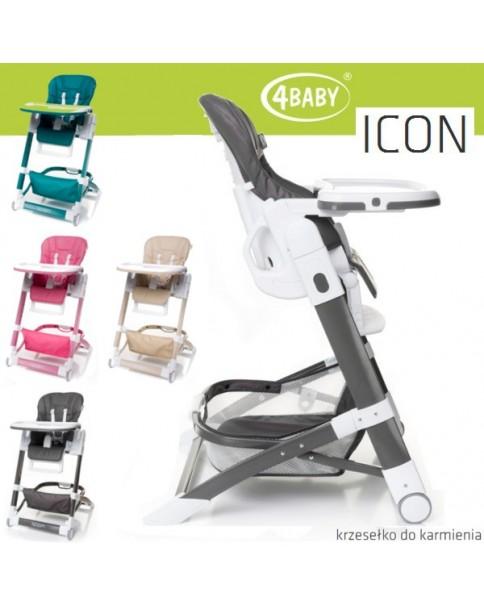 4Baby Krzesełko do karmienia Icon