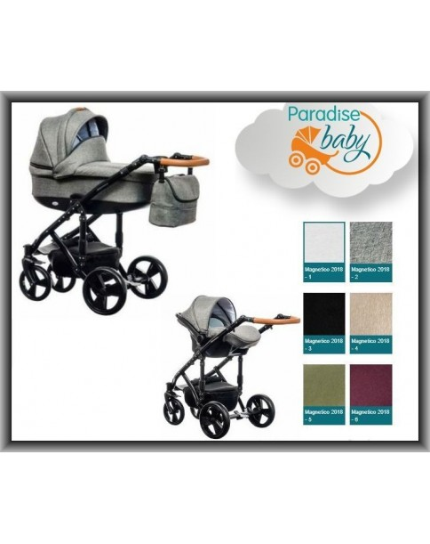 Paradise Baby Wózek Magnetico Gondola + Fotelik 2w1 New 1