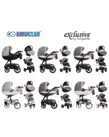 BabyActive Wózek Wielofunkcyjny Shell Exclusive 3 w 1