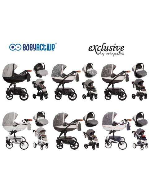 BabyActive Wózek Wielofunkcyjny Exclusive 3 w 1