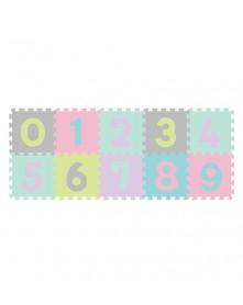 Baby Ono Puzzle Piankowe Cyfry 10 szt. pastelowe