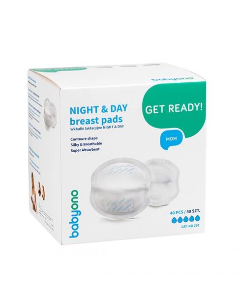 Baby Ono Wkładki Laktacyjne Night&Day 1059