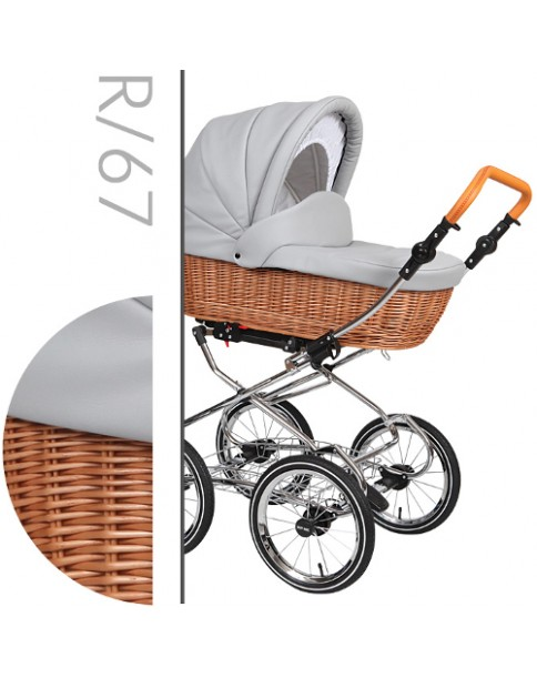 Baby Merc Wózek Wielofunkcyjny 2w1 Retro R67