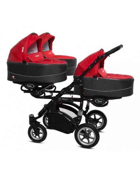 BabyActive Wózek Trojaczy Trippy 2w1