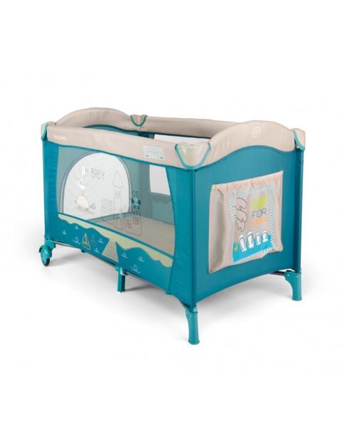 Milly Mallly łóżeczko turystyczne Mirage Blue Bird