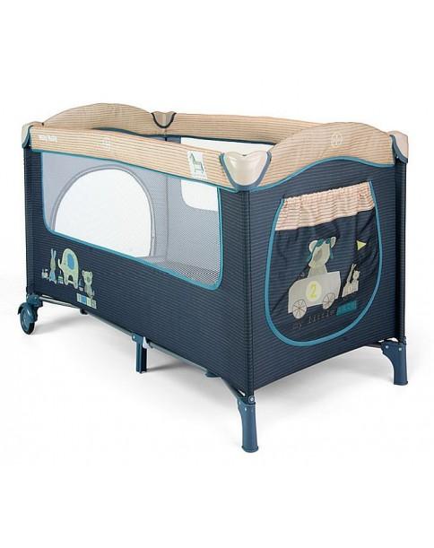 Milly Mallly łóżeczko turystyczne Mirage Blue Toys