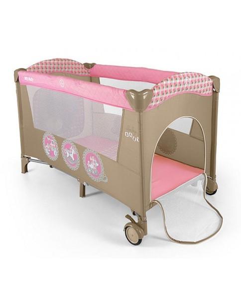 Milly Mallly łóżeczko turystyczne Mirage Pink Toys